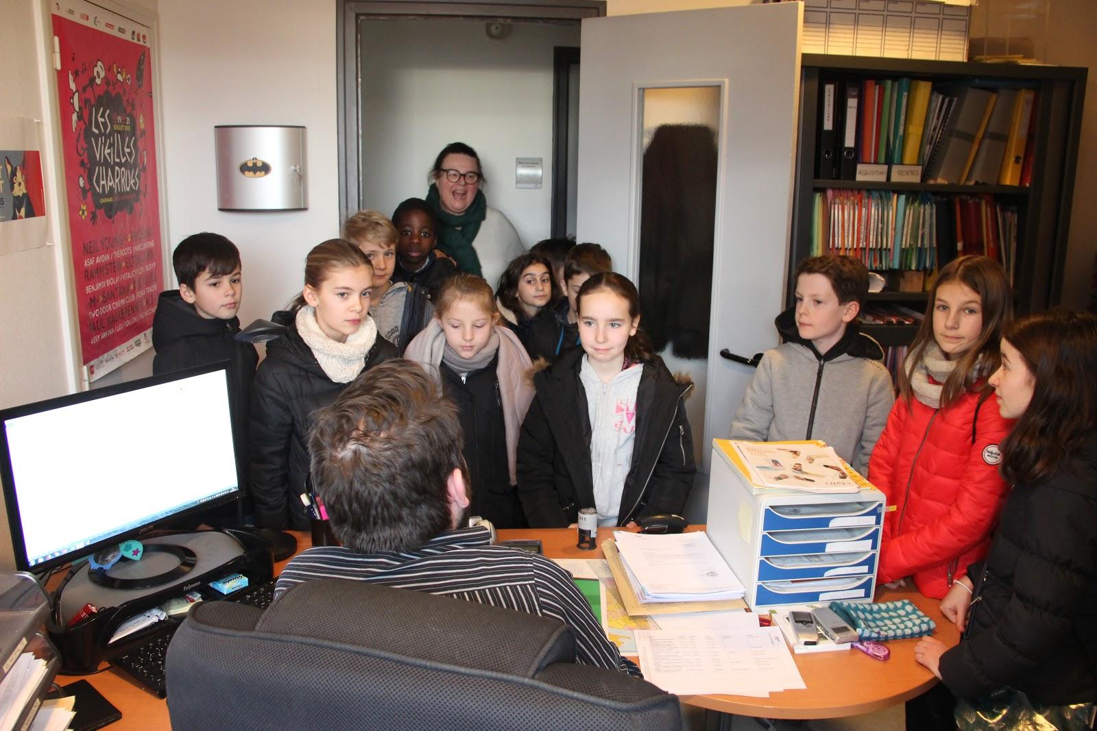 Le CMJ visite la Mairie