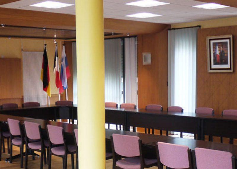 La salle du Conseil municipal _ les élus
