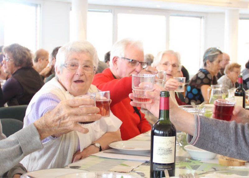 Convivialité personnes âgées