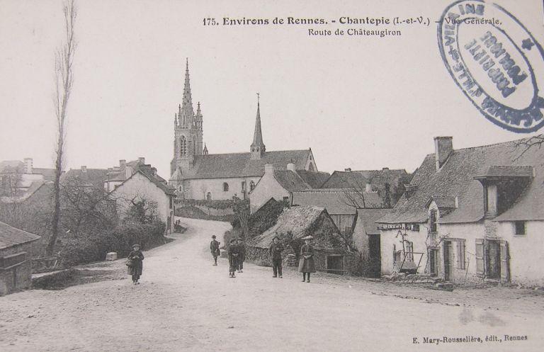 Histoire et patrimoine de Chantepie en 1900