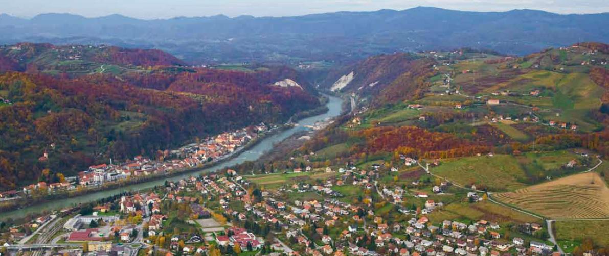 Krsko en Slovénie _ jumelée avec Chantepie