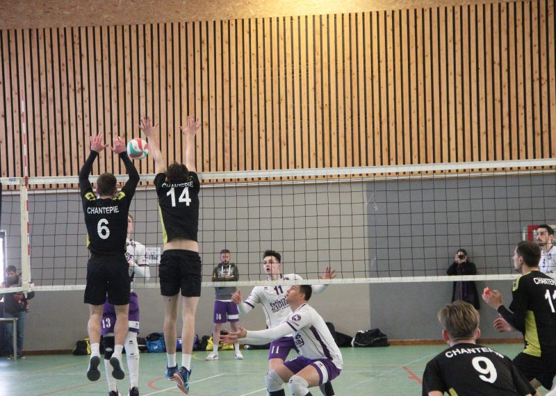 Match de Volley à Chantepie